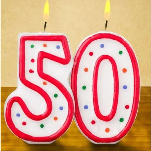 50 jaar ideeën voor een feest (7tips)