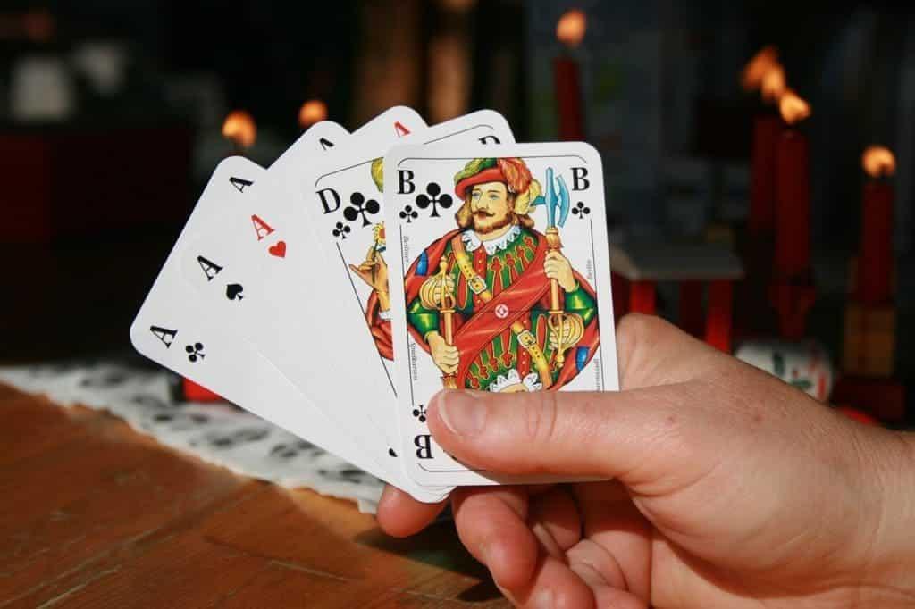 Pokeren tijdens het vrijgezellenfeest