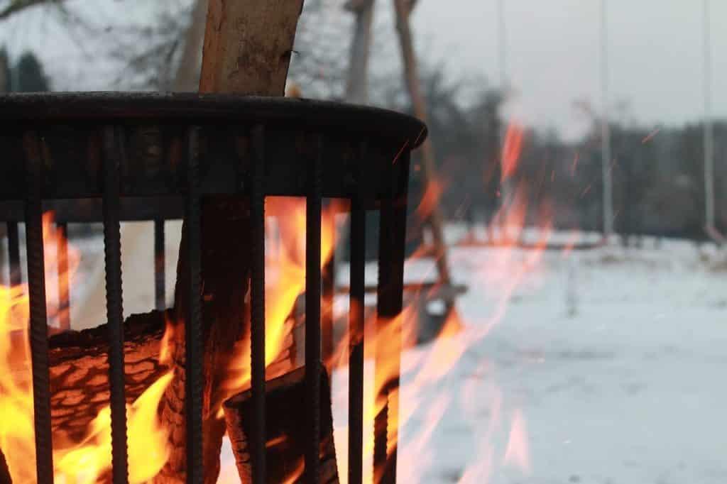 Vuurkorf voor een gezellig sfeertje