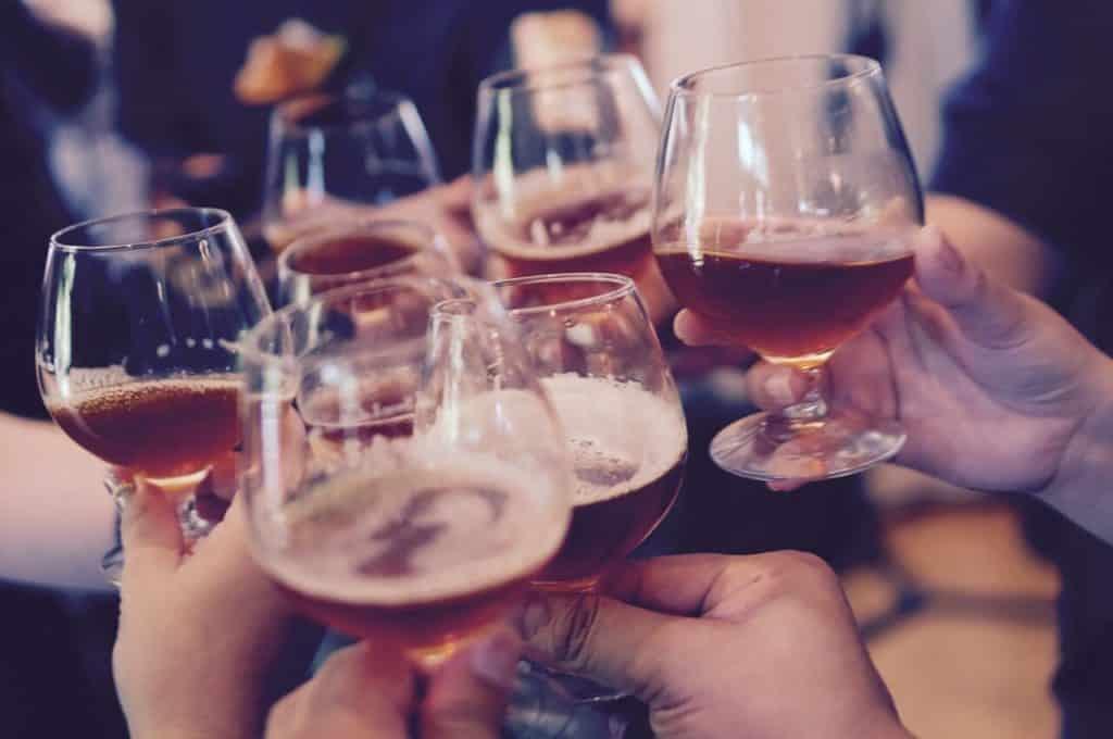 Alcohol op een feestje