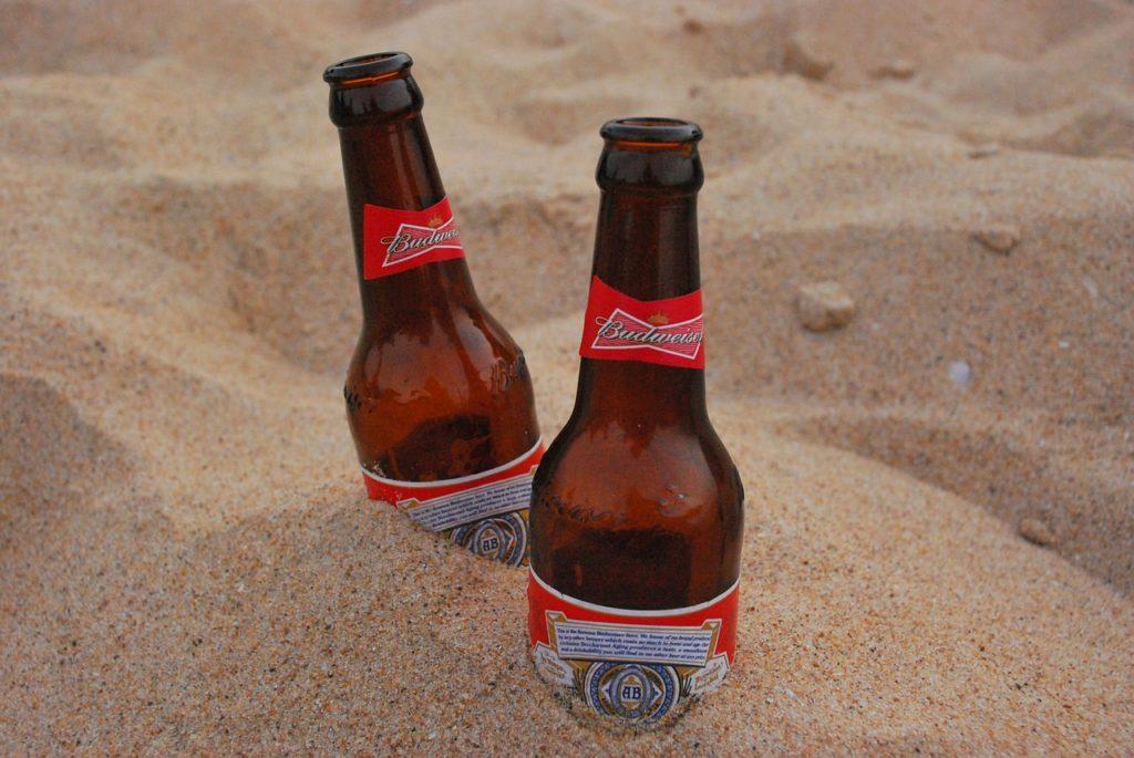 Bier in de grond