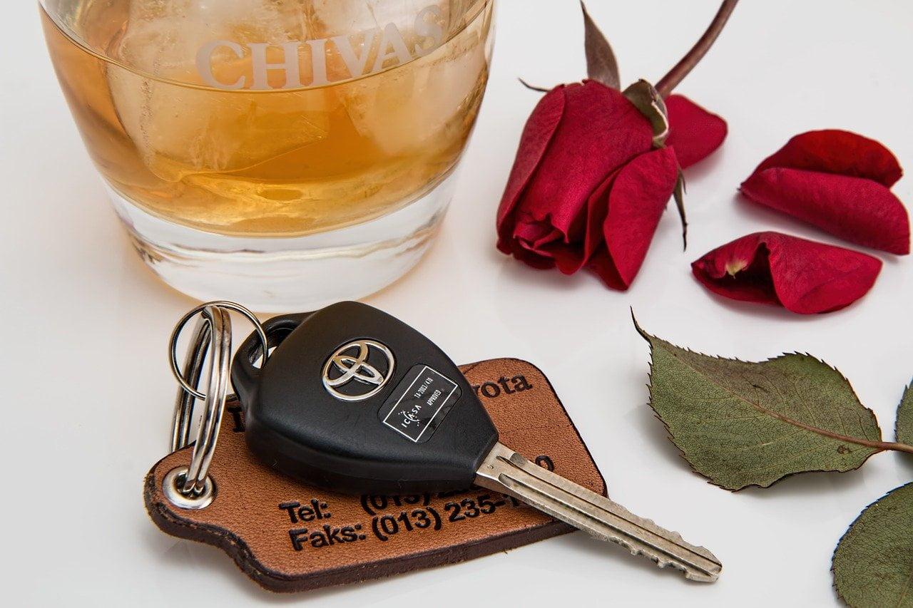 Drinken en rijden - geen goede combinatie