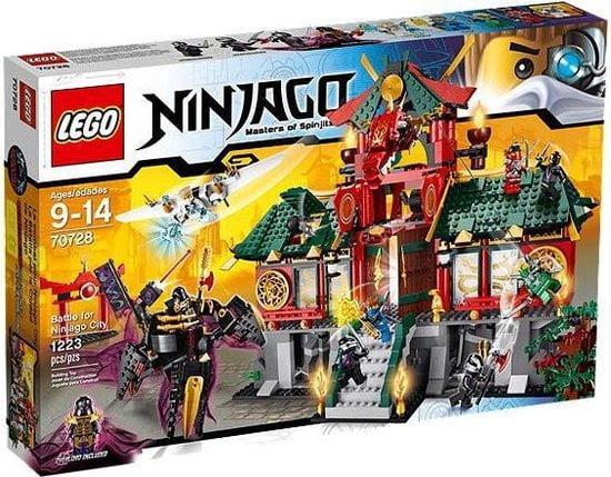 De slag om Ninjago City