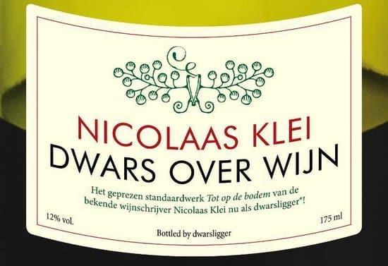 Dwars over wijn van Nicolaas Klei