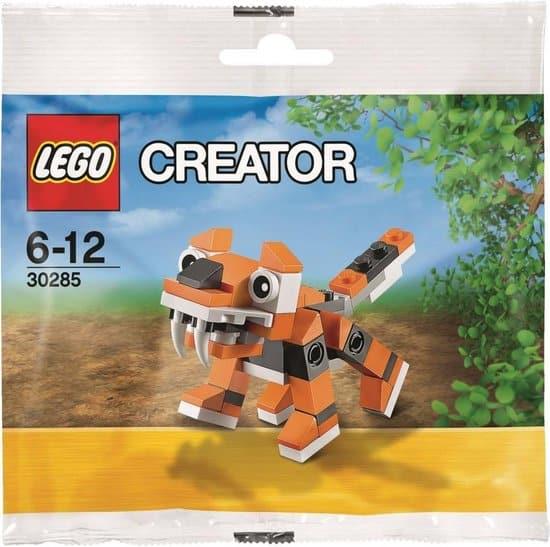Tijger gemaakt van Lego