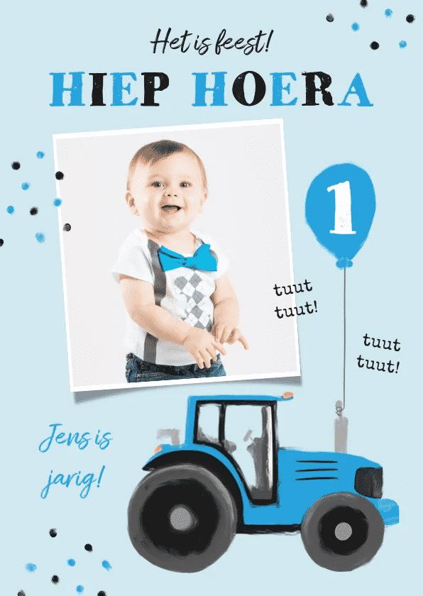 eerste verjaardag kind uitnodiging