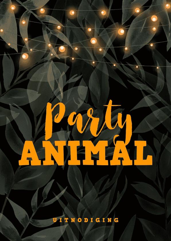 uitnodiging feestje