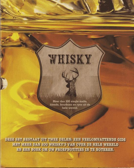 Whiskyboek en proef notitie - van Rebo Productions