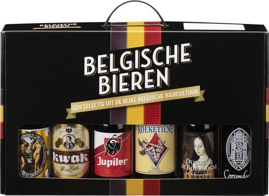 Lekker Belgische bieren in cadeauverpakking