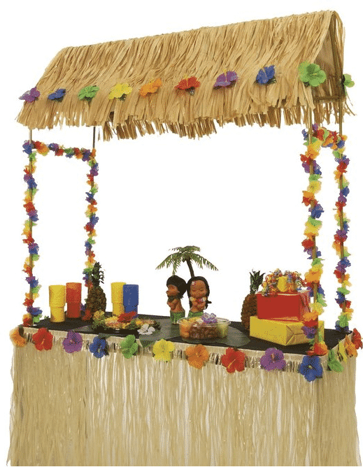 hawai hut versiering (cocktail party)
