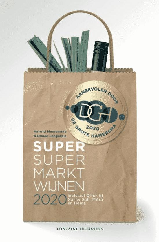 Super supermarktwijnen 2020 (De Grote Hamersma) van Harold Hamersma en Esmee Langereis