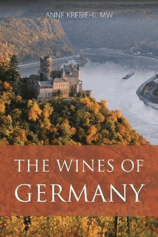 The wines of Germany van Anne Krebiehl - boeken over Duitse wijn
