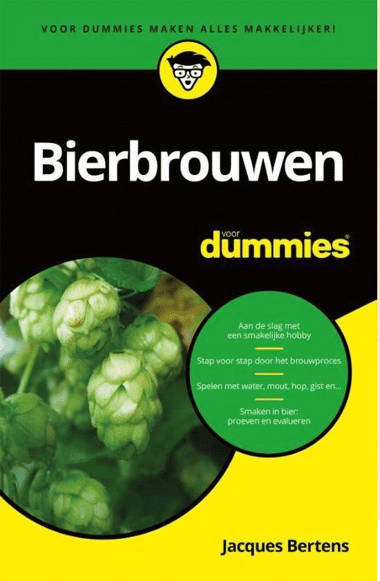 Bierbrouwen voor dummies - van Jacques Bertens
