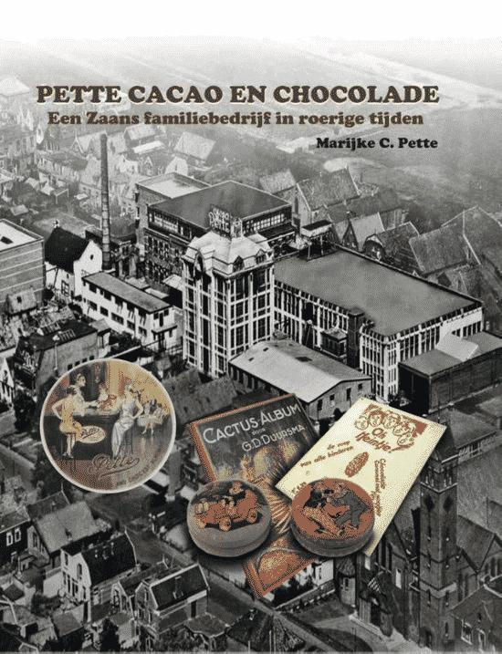 Pette cacao en chocolade van Marijke C. Pette