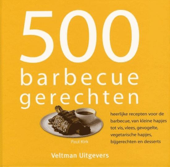 500 barbecuegerechten van P. Kirk