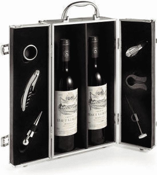 aluminium wijnkist