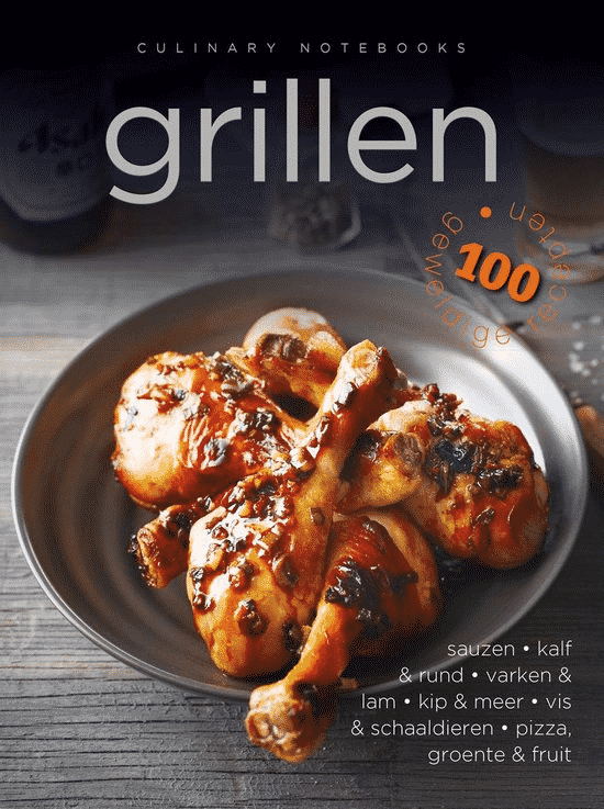 Culinary Notebooks Grillen van Rebo Productions