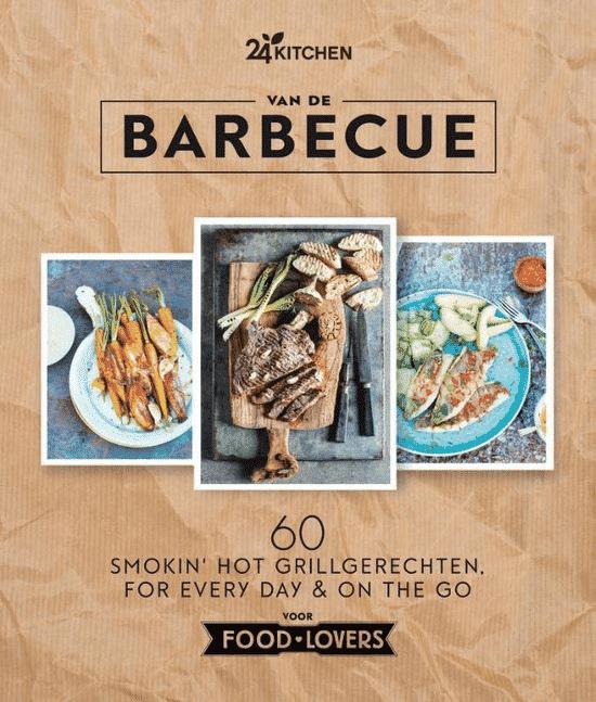 Van de barbecue van 24 Kitchen -boeken over barbecueën