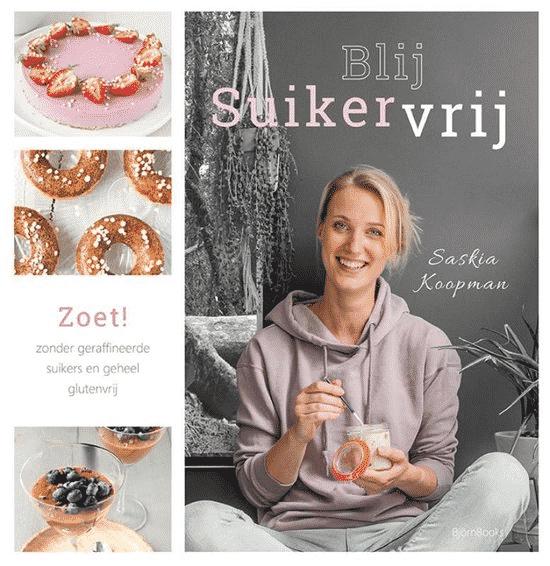 Blij suikervrij zoet! van Saskia Koopman - boeken over glutenvrij eten