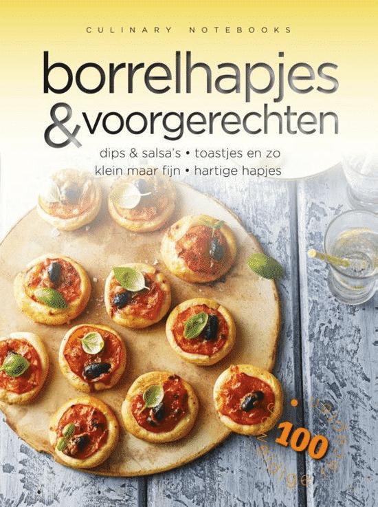 Culinary notebooks - Borrelhapjes & voorgerechten van Carla Bardi