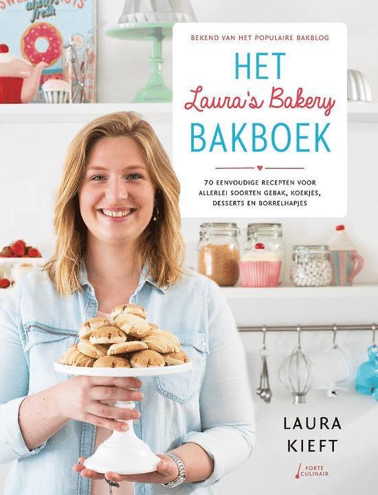 Het Laura's Bakery bak boek van Laura Kieft