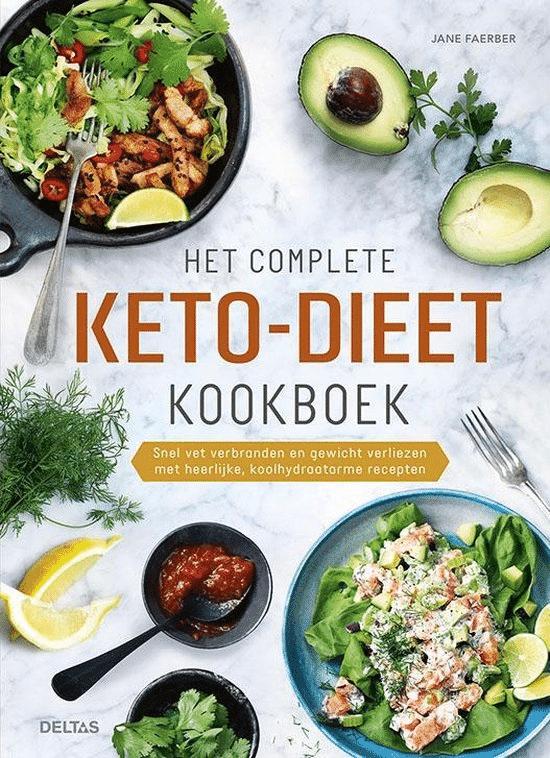 Het complete keto-dieet kookboek van Jane Faerber