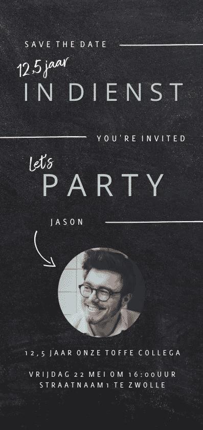 personeelsfeest uitnodiging