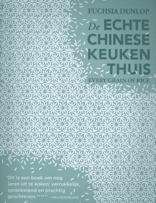 De echte Chinese keuken thuis van Fuchsia Dunlop -Boeken over Chinese gerechten