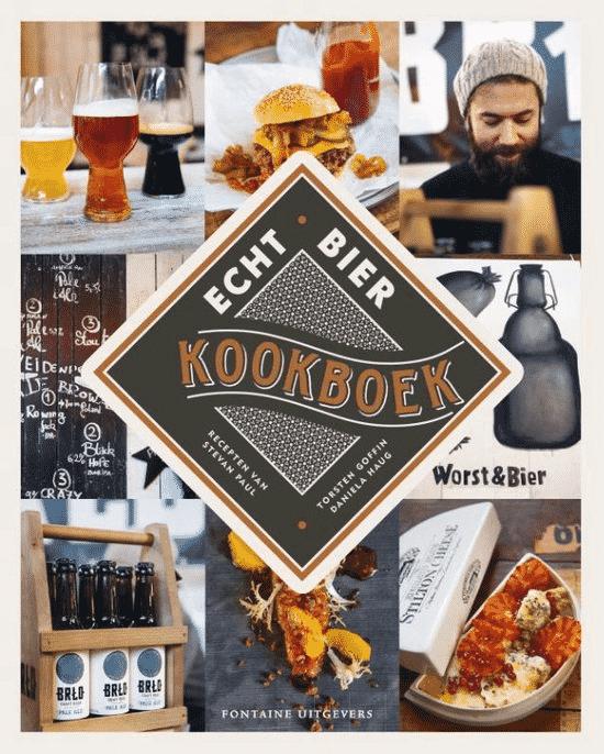 Echt bier kookboek - van Stevan Paul, Torsten Goffin en Daniela Haug - Boeken over bier en eten