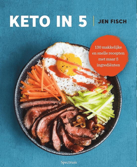 130 makkelijke en snelle recepten met maar 5 ingrediënten van Jen Fisch