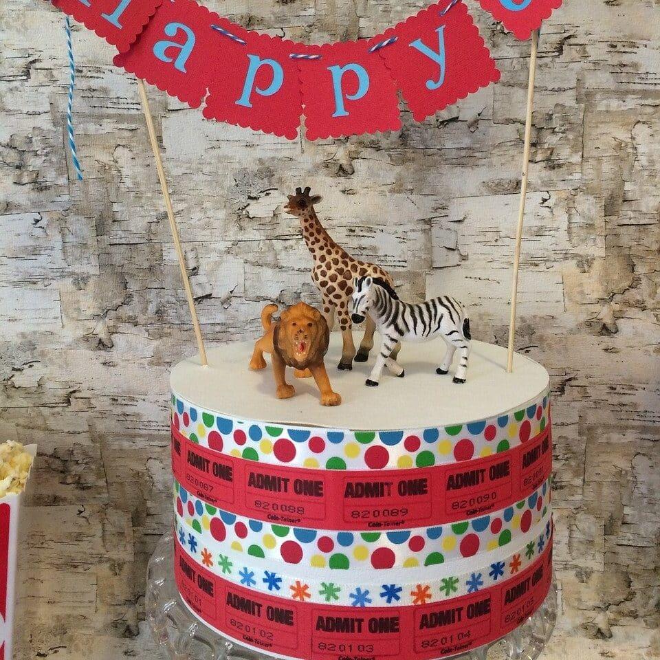 Safari feest taart