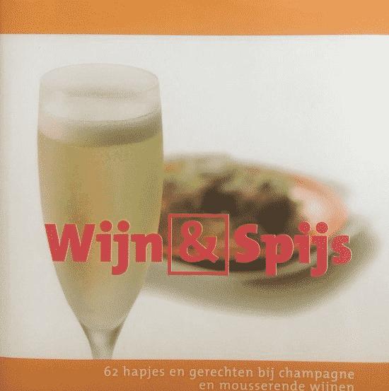 Wijn en spijs champagne – uitgegeven door Caplan Books