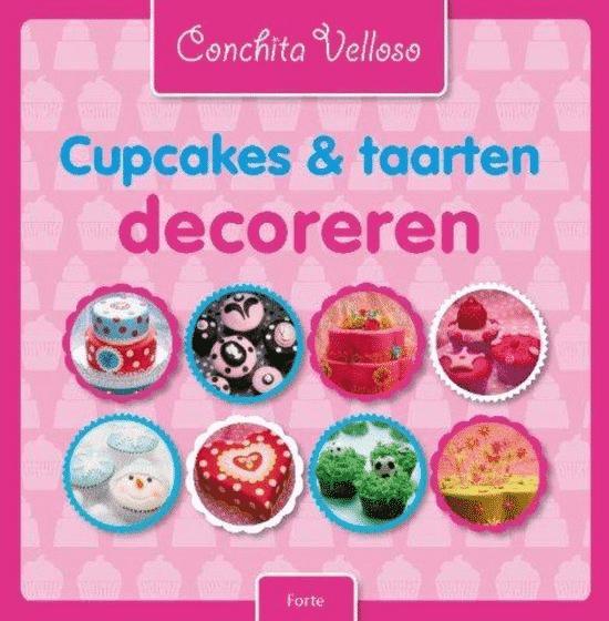 Cupcakes & taarten decoreren van Conchita Velloso
